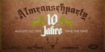 Almrauschparty 2013 in Kitzbühel