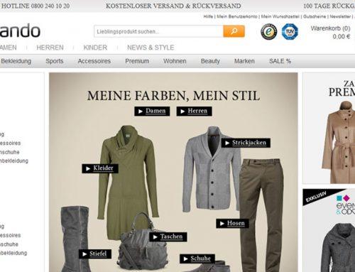Gutscheine von Zalando – günstig online shoppen