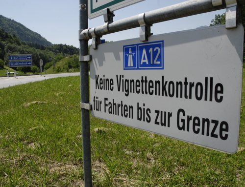 Ab Dezember 2013 Vignettenpflicht zwischen Kiefersfelden und Kufstein-Süd