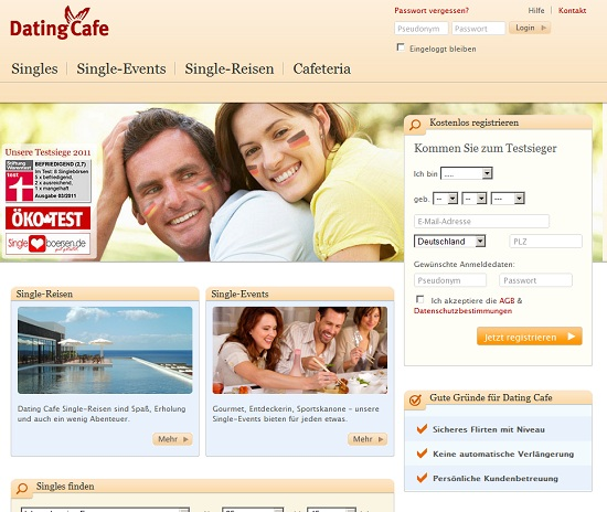 dating cafe de Meerbusch