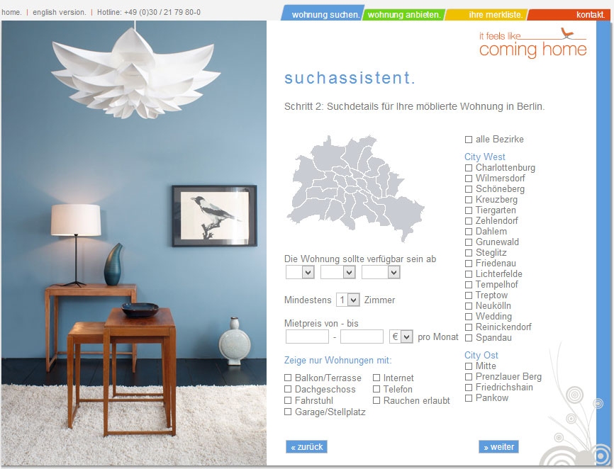 wohnen auf zeit in berlin mit coming wird s einfach. Black Bedroom Furniture Sets. Home Design Ideas