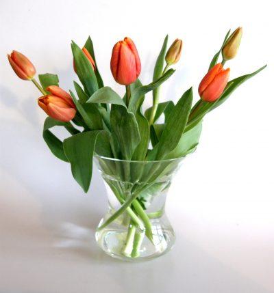 Blumen beim ersten Date