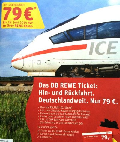 DB REWE Ticket ICE