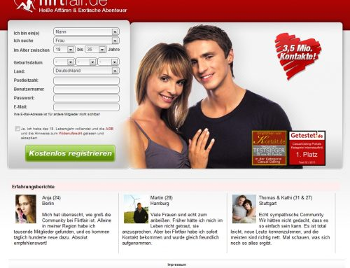casual dating portal