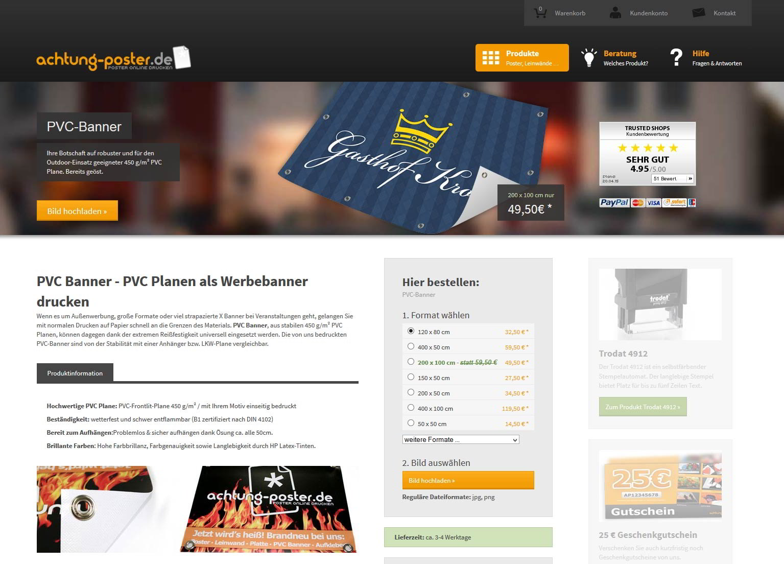 posterdruck forex posterdruck forex platte. Black Bedroom Furniture Sets. Home Design Ideas