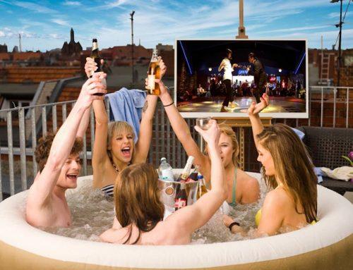 Whirlpool Cinema Open Air – mit der Badehose ins Kino