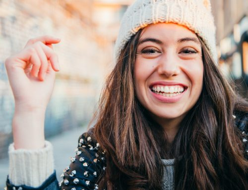 Ein strahlendes Lächeln macht den Anfang